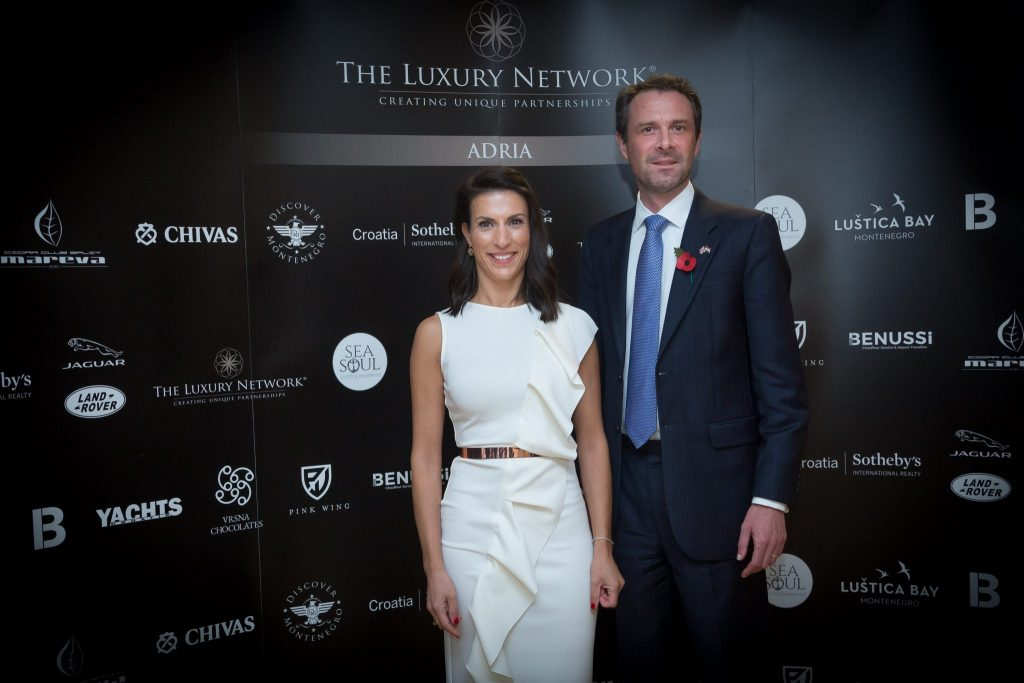 A Salute to The Luxury Network Adria Event at the Official Residency of H.E. Andrew Dalgleish